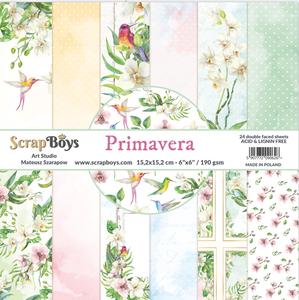 Bilde av ScrapBoys - Primavera - 6x6 Paper Pad