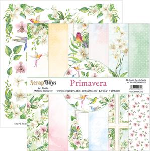 Bilde av ScrapBoys - Primavera - 12x12 Paper Pack