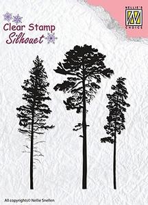 Bilde av Nellie Snellen - Clear Stamp - SIL037 - 3 Pinetrees