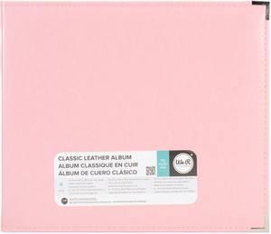 Bilde av We R - 660919 - Leather D-Ring Album - 12x12 - Pretty Pink