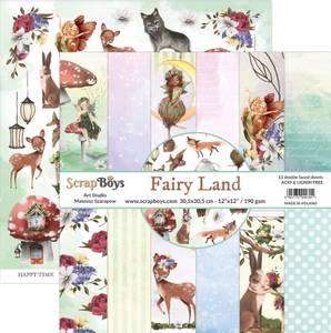 Bilde av ScrapBoys - Fairy Land - 12x12 Paper Pack