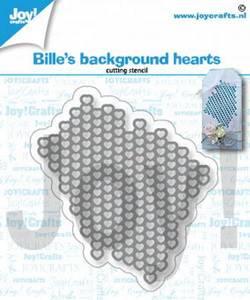 Bilde av Joy Crafts - 6002-1363 - Bille's Background Hearts