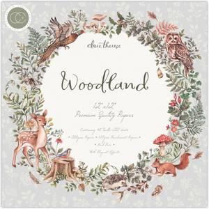 Bilde av Craft Consortium - Woodland - 12x12 Paper Pad