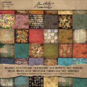 Bilde av Tim Holtz - Idea-Ology - 12x12 Paper Stash - Lost & Found