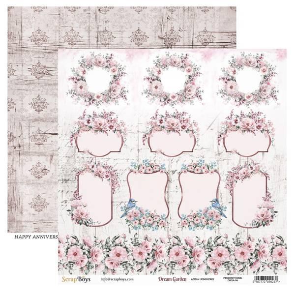 ScrapBoys - Dream Garden - 12x12 - DRGA-06