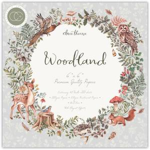 Bilde av Craft Consortium - Woodland - 6x6 - Paper Pad