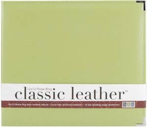 Bilde av We R - 660916 - Leather D-Ring Album - 12x12 - Kiwi