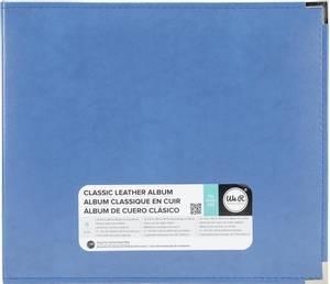Bilde av We R - 660914 - Leather D-Ring Album - 12x12 - Country Blue