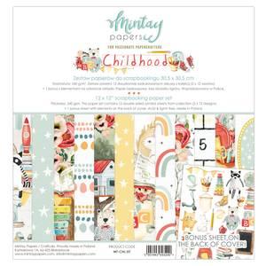 Bilde av Mintay - CHL - 12x12 Paper Set - Childhood