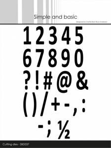 Bilde av Simple and basic - Dies - SBD037 - Numbers