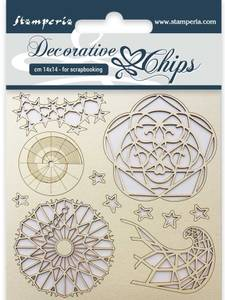 Bilde av Stamperia - Chipboard Decorative Chips - 13 - Arctic