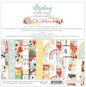 Bilde av Mintay - CHL - 6x6 Paper Pad - Childhood