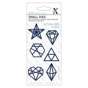 Bilde av Xcut Dies - XCU 504115 - Geometric Shapes - Small dies