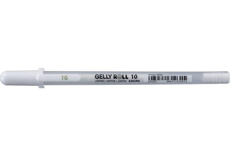 Sakura Gelly Roll - Basic - 10 - Bold - Hvit