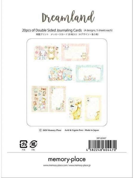 Memory Place - Dreamland - Journaling Cards