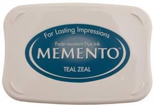 Bilde av Memento Dye Ink Pad 602 - Teal Zeal