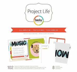 Bilde av Project Life - 6x8 Inserts & Dividers - 380443 - All About Me