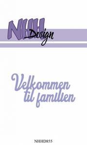 Bilde av NHH Design - NHHD855 - Dies - Velkommen til familien
