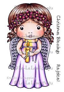 Bilde av La-La Land Crafts - Stamp 5227 - CHRISTMAS ANGEL MARCI