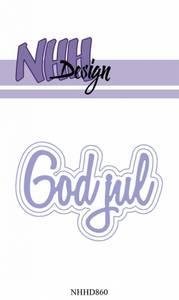 Bilde av NHH Design - NHHD860 - Dies - God Jul