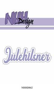 Bilde av NHH Design - NHHD862 - Dies - Julehilsner
