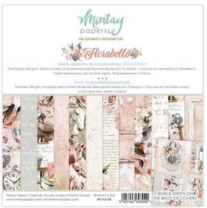 Bilde av Mintay - FLB - 6x6 Paper Pad - Florabella