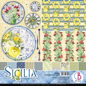 Bilde av Ciao Bella - 033 - 12x12 Patterns Pad - Sicilia - 8pk