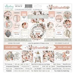 Bilde av Mintay - FLB - 12x12 - Florabella - Cardboard Stickers