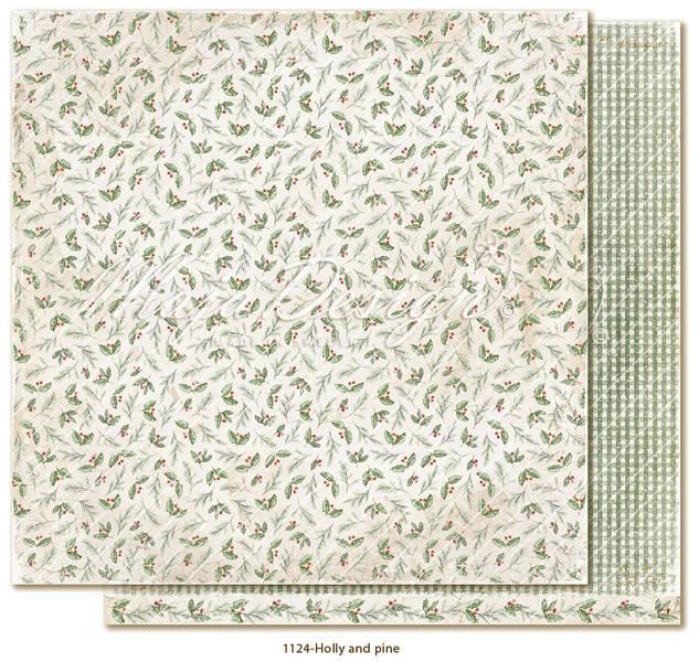 Maja Design - 1124 - Traditional Christmas - Holly and pine