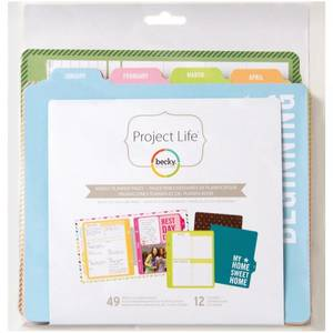 Bilde av Project Life - 6x8 Pages - 97722 - Weekly Planner Pages