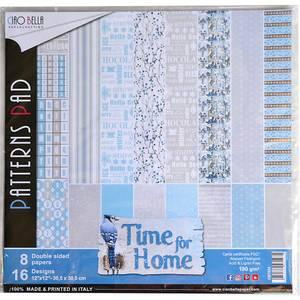 Bilde av Ciao Bella - 024 - 12x12 Paper Pack - Time For Home - 8pk