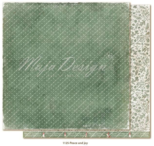 Maja Design - 1125 - Traditional Christmas - Peace and joy