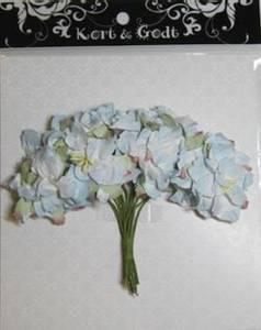 Bilde av Kort & Godt - Gardenia - Lys Blå - 0636