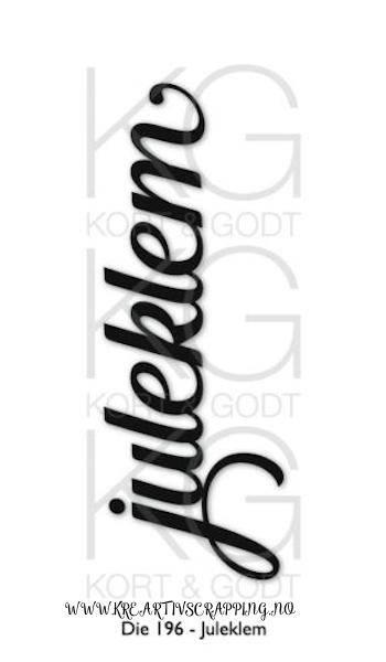Kort & Godt - Die 196 - Juleklem