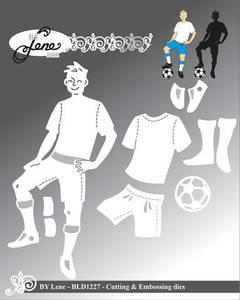 Bilde av By Lene - Dies - BLD1227 - Football Player