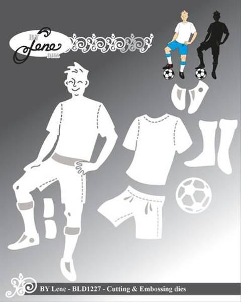 By Lene - Dies - BLD1227 - Football Player