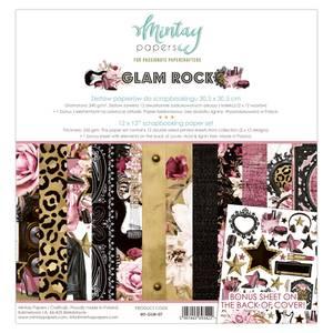 Bilde av Mintay - GLM - 12x12 Paper Set - Glam Rock