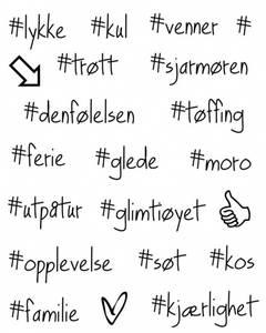 Bilde av Storyteller - Clearstamps - Hashtags #1