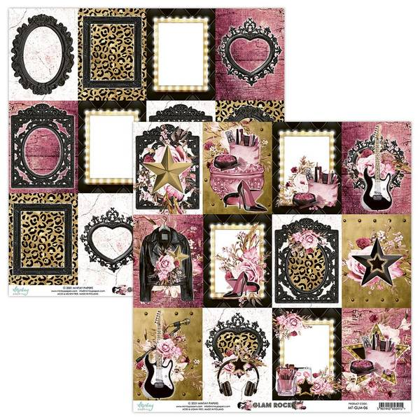 Mintay - GLM - 12x12 - Glam Rock - 06 Picture Sheet