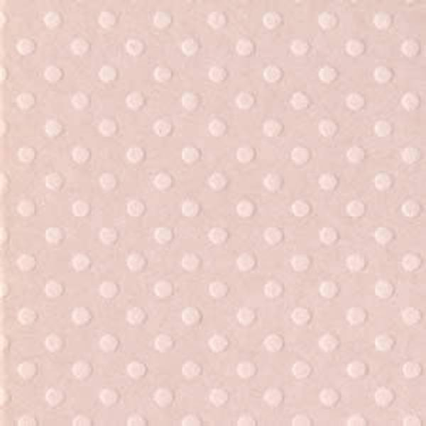 Bazzill - Dotted Swiss - 1-153 - Sunset Rose - 303066