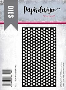 Bilde av Papirdesign Dies PD17320 - Hullmønster