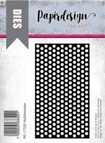 Papirdesign Dies PD17320 - Hullmønster