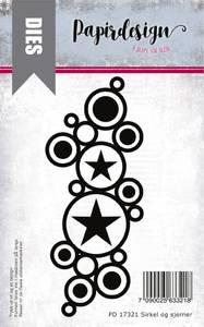Bilde av Papirdesign Dies PD17321 - Sirkler og stjerner