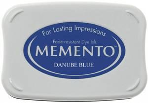 Bilde av Memento Dye Ink Pad 600 - Danube Blue