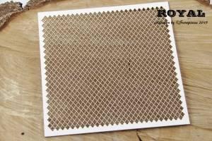 Bilde av Scrapiniec - Chipboard - 3773 - Royal - Background mesh
