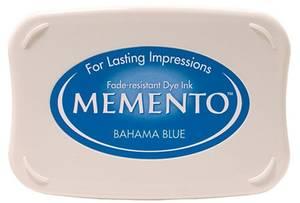 Bilde av Memento Dye Ink Pad 601 - Bahama Blue