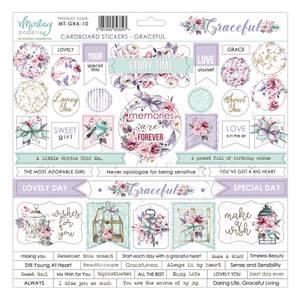 Bilde av Mintay - GRA - 12x12 - Graceful - Cardboard Stickers