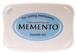 Bilde av Memento Dye Ink Pad 604 - Summer Sky
