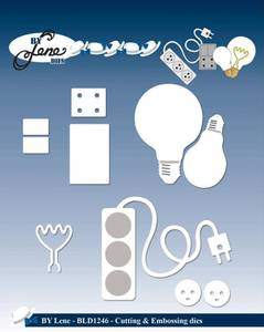 Bilde av By Lene - Dies - BLD1246 - Electricity