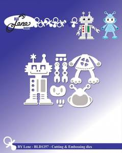 Bilde av By Lene - Dies - BLD1257 - Robots
